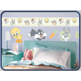 Looney tunes stickers for Baby looney tune decoration